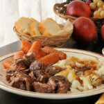 Slow cooked chuck roast