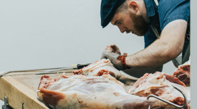Butcher w_ Meat